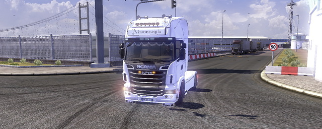 Scania Truck Driving Simulator trucks mods SCANIA R730 download