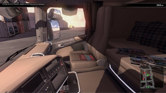 Scania Truck Driving Simulator interior mods