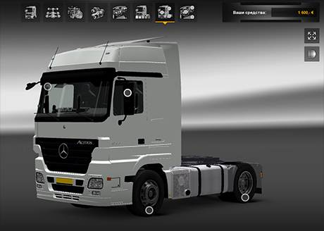 ets2 mercedes benz actros mp2