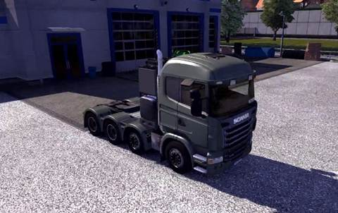 Euro Truck Simulator 2 Mods: Scania Upgrade V1.0