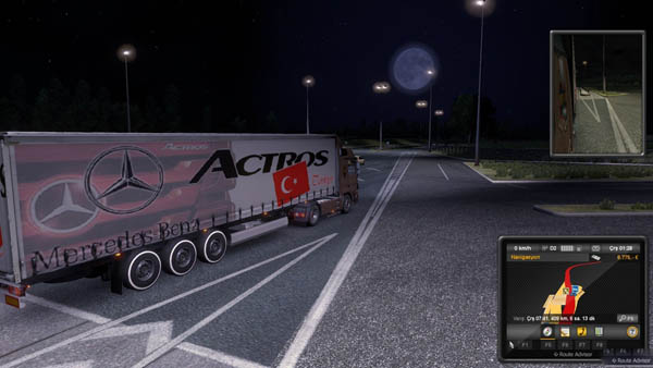 Mercedes Benz Actros Turkey Trailer skin