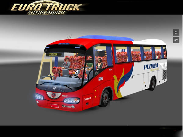 ETS2 Mods: Irizar Scania Bus Mods beta v.01  car bus