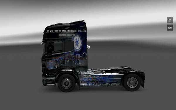 Skin Chelsea FC for Scania