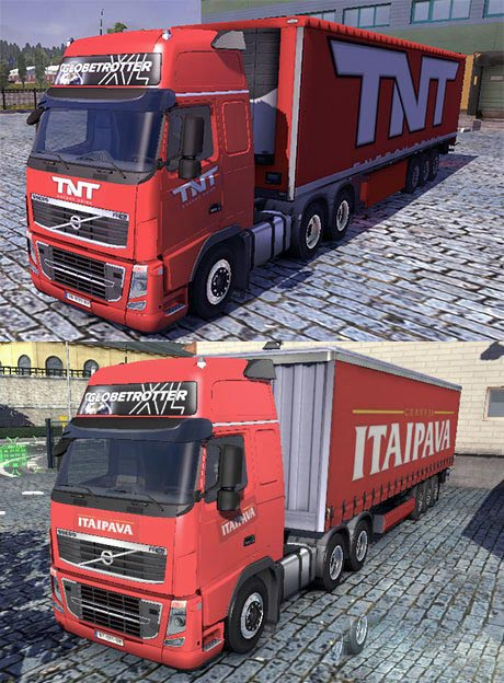TNT and Itaipava skins