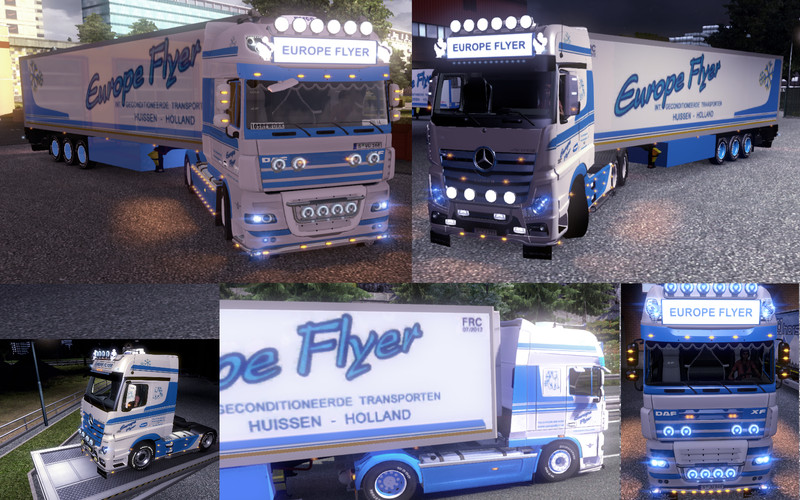 mp 4 daf xf rework europe flyer pack by speedy66