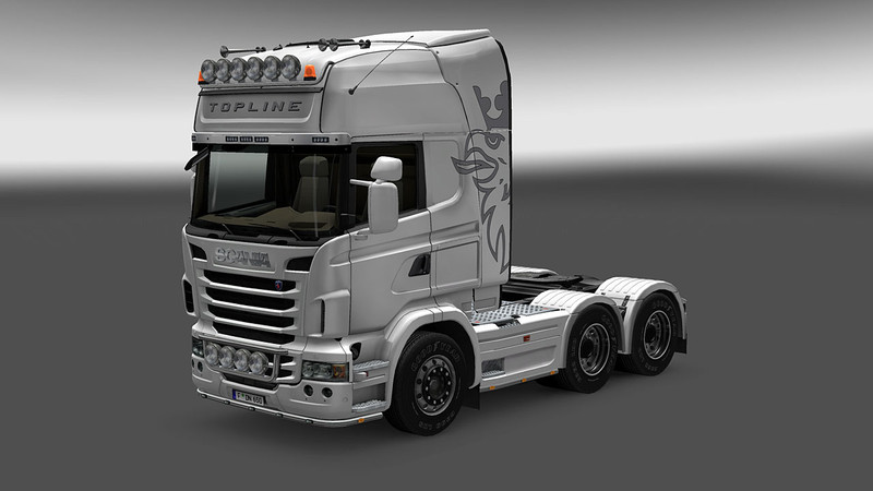 ETS2 Mods: Scania R Series V 1.0  ETS 2 Mods