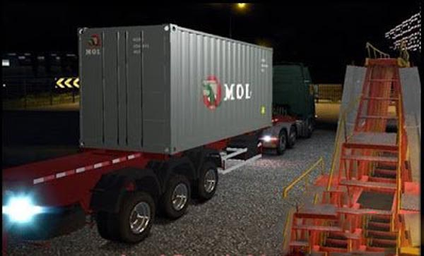 Trailer Port Container