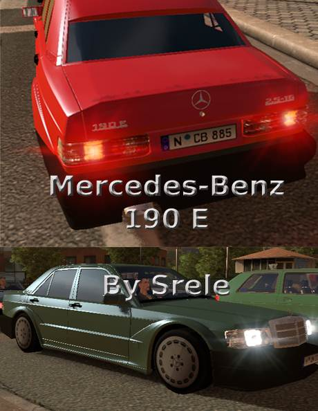 ets2 mercedes benz 190 e