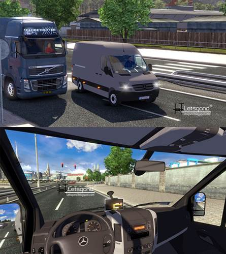 ets2 mercedes benz sprinter