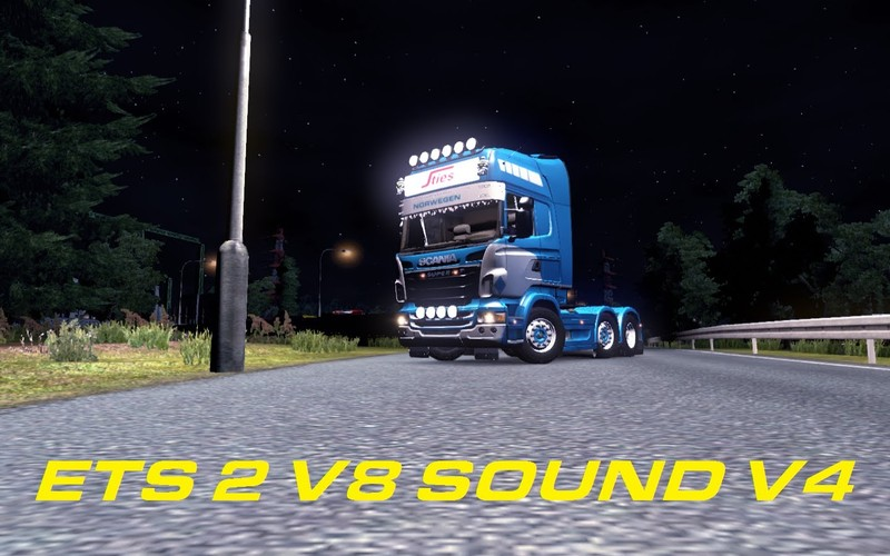 ets 2 scania v8 sound