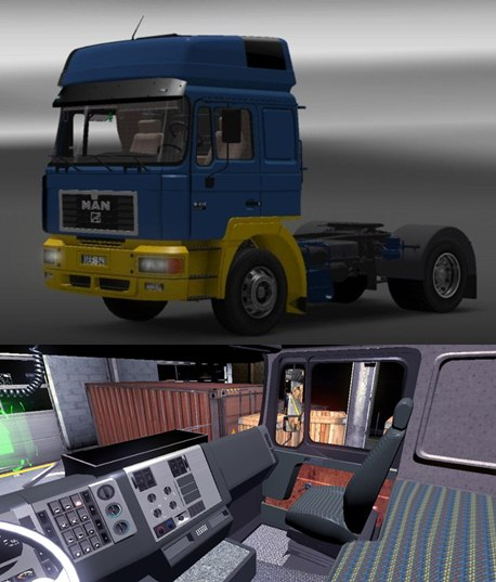 ets2 f2000 man interior