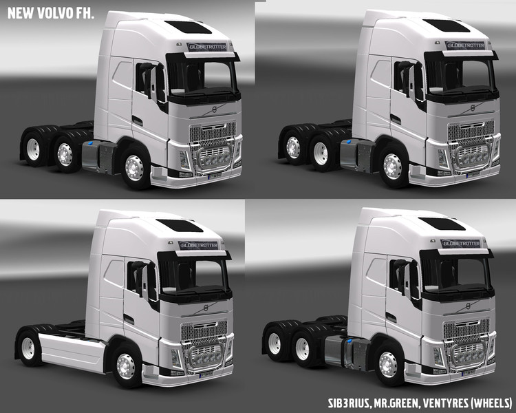 ets 2 volvo fh16 2013 fixed