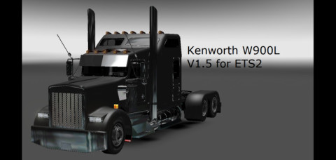 Euro Truck Simulator 2 Mods: Kenworth W900L   us others c102 euro truck simulator 2 mods