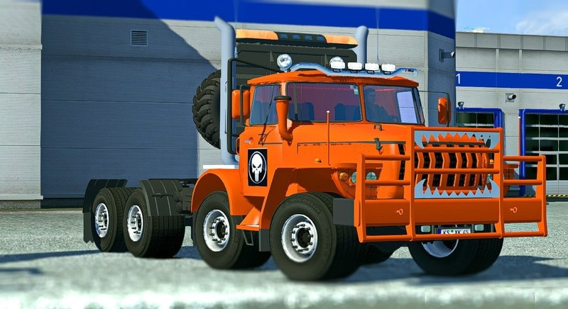 ets 2 ural 43202 interior sound tunning