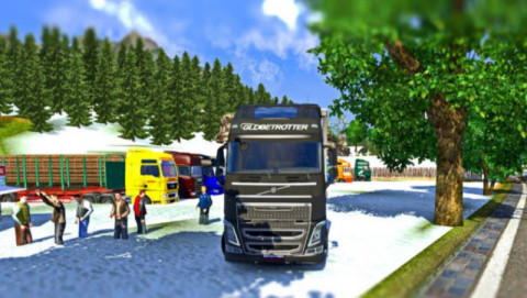 Euro Truck Simulator 2 Mods: Truckers Map  c102 euro truck simulator 2 mods maps