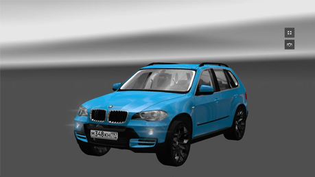 bmw x5 intrerior ets2