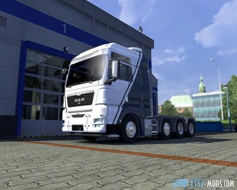 GTMods MAN TGX Reworked 2