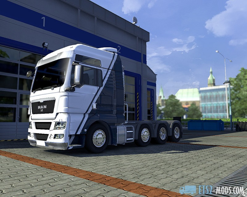 GTMods MAN TGX Reworked