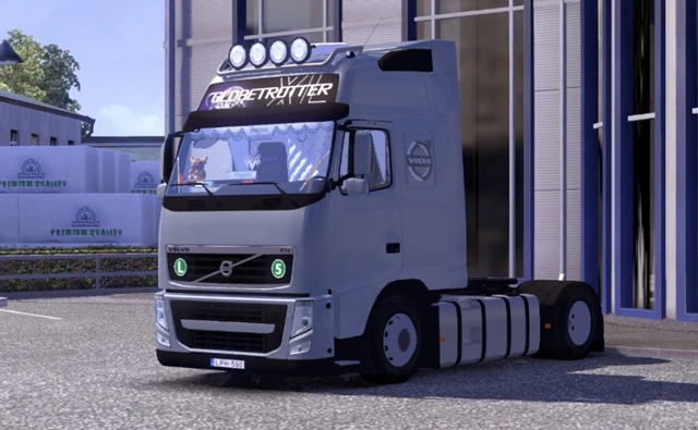 ets2 volvo fh with interior