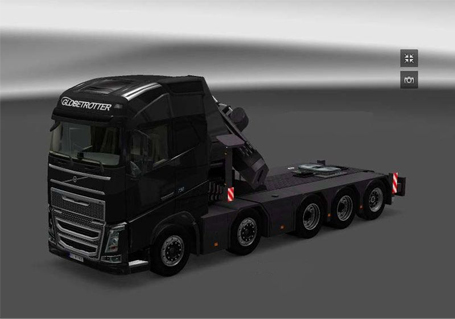 volvo fh ets2 10x4