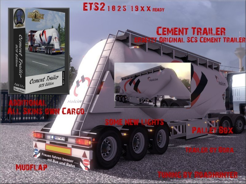 Cement Trailer Tuning
