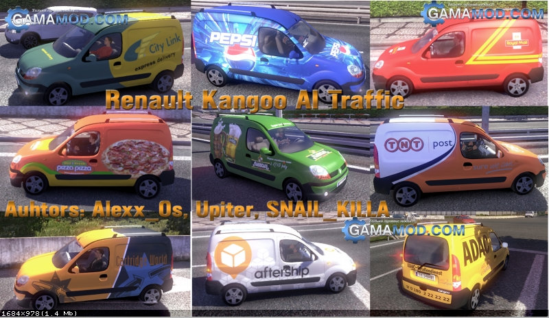 Renault Kangoo AI Traffic