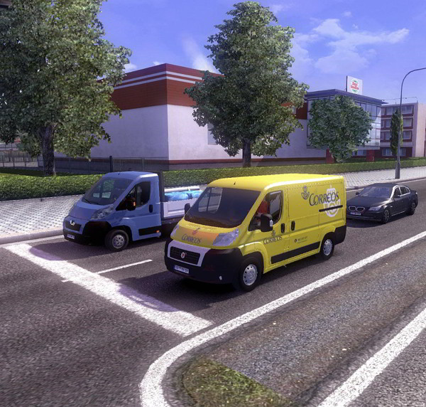 Fiat-Ducato-Correos-in-traffic-v1.0