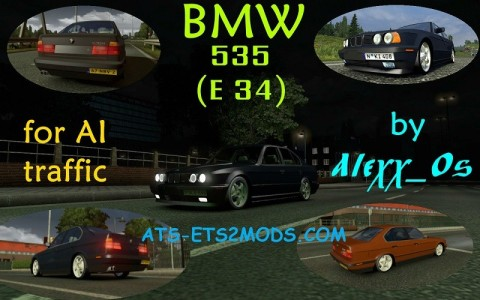 bmw-e34-ai-traffic-car