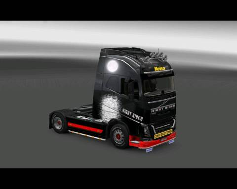 ets2 volvo fh night rider