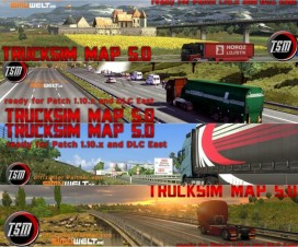 TruckSim Map 5.3