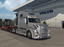 Volvo VNL670 v1.4.1 for ETS2 by Aradeth